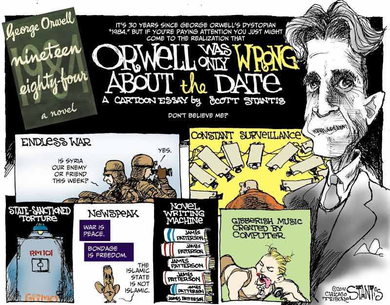 orwell commentary essay